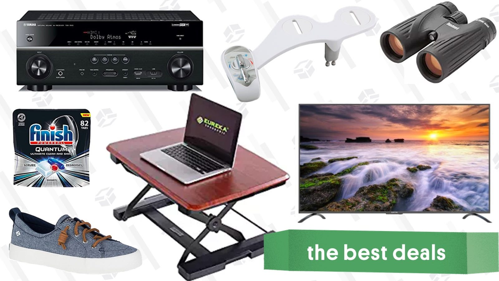 "Thursday's Best Deals: Office Furniture, 75"" TV, Sperry Sale, and More"