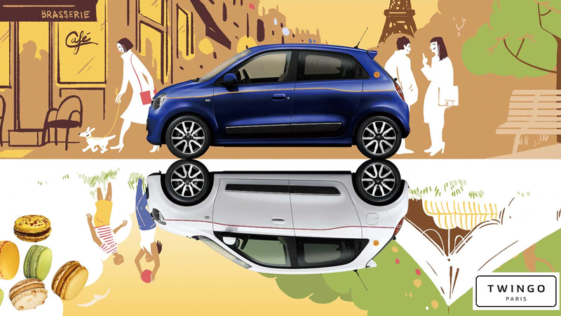 Illustration for article titled Renault Now Offers A Special-Edition Twingo With Macaron Tech
