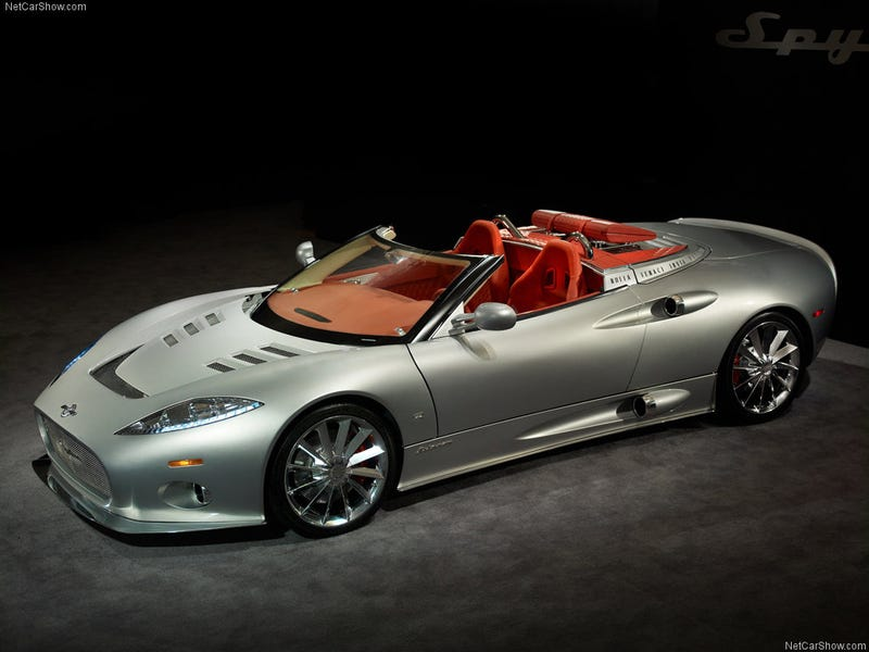 Spyker for your time.