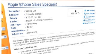 Illustration for article titled UK Job Listing Hints at August 16 Launch of the iPhone 5