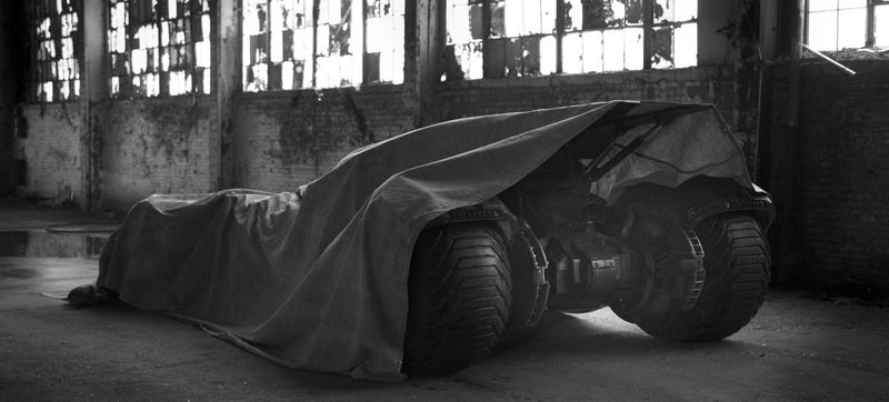 Illustration for article titled The Next Batmobile Looks Like It's Gonna Be Mean As Hell