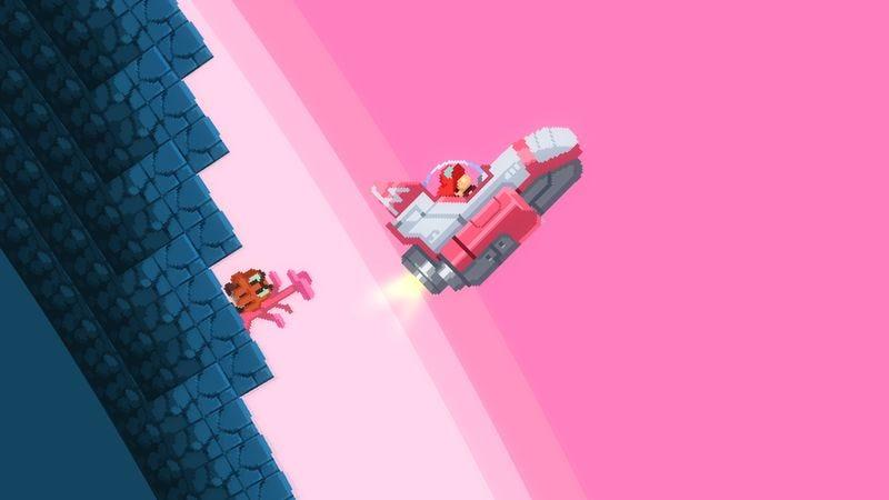 Screenshot: No Mario's Sky