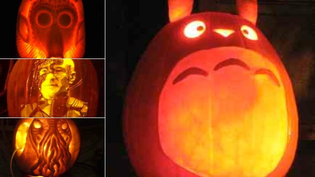 Incredible But Real Science Fiction And Fantasy Pumpkin