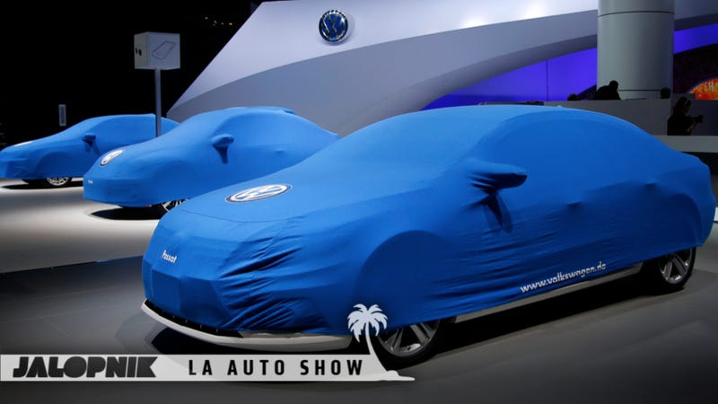 Illustration for article titled Everything You Need To Know About The LA Auto Show — Day One
