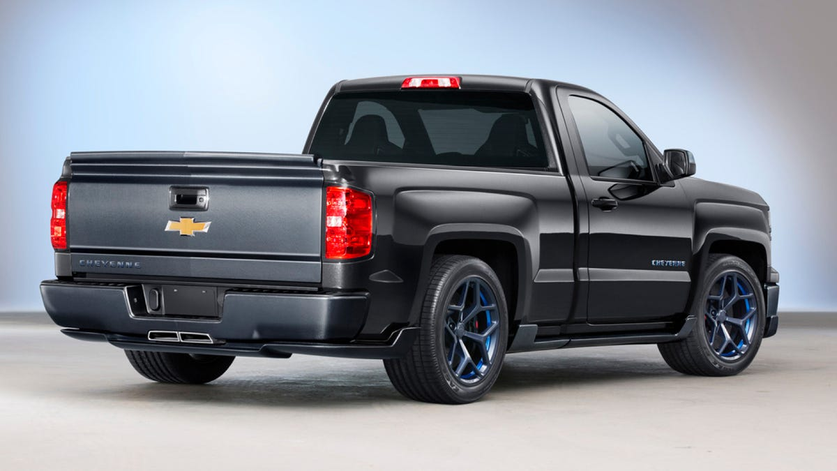 All Types single cab silverado ss : The 420 HP Chevrolet Silverado Cheyenne Is The V8 Trucklet You Need