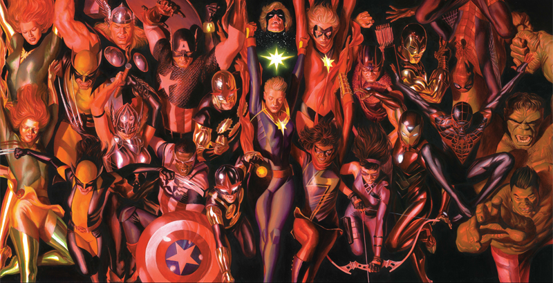 Image: Marvel. Art by Alex Ross