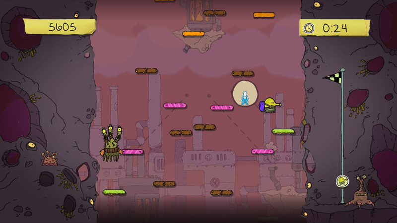 Illustration for article titled Kinect-Enhanced Doodle Jump Lands On Xbox 360 This Summer