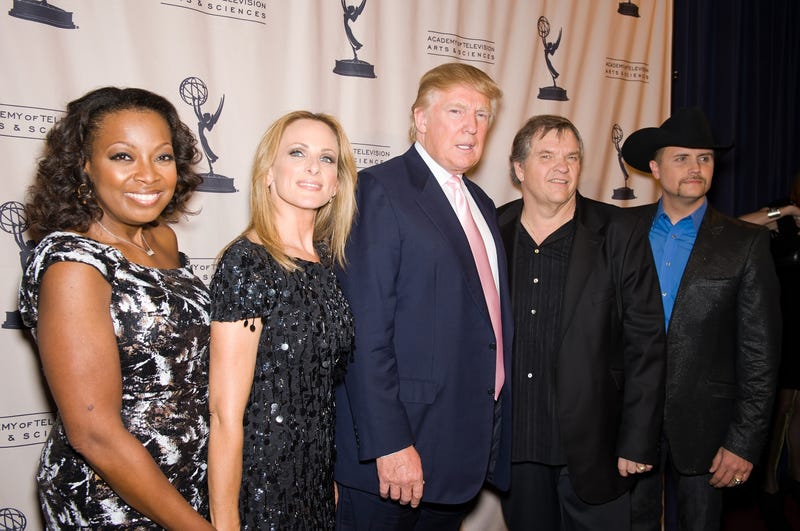 Star Jones, Marlee Matlin, Donald Trump, Meat Loaf and John Rich attend An Evening With the Celebrity Apprentice at Florence Gould Hall  in New York City on April 26, 2011.Gilbert Carrasquillo/FilmMagic