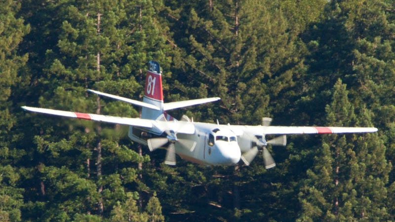 Illustration for article titled A Firefighting Plane Has Crashed In Yosemite