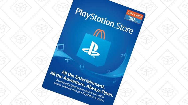 $50 PlayStation Store Gift Card | $44 | Rakuten | Promo code