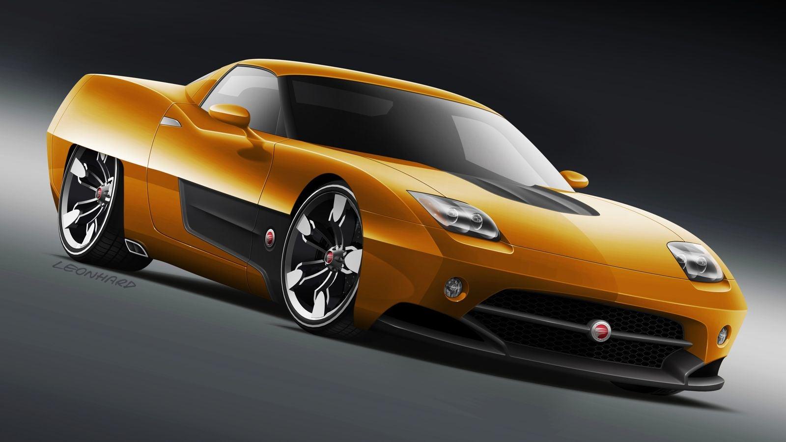 Instant 1960s concept car just add corvette for Garage n4 auto duppigheim