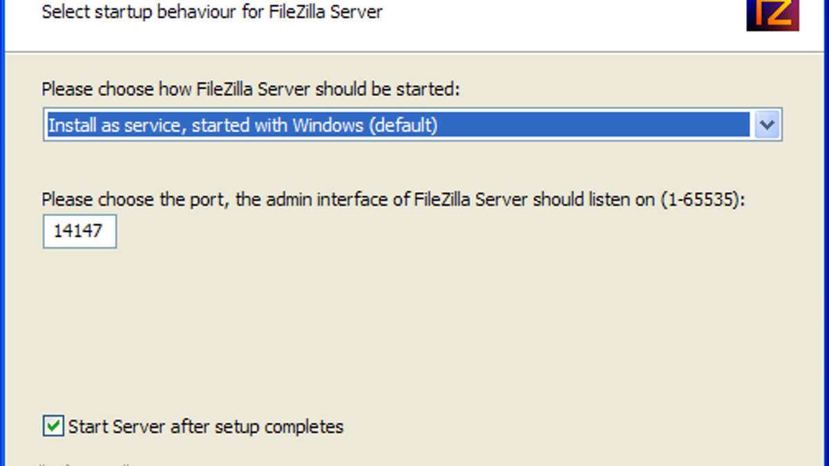 How to create an FTP server yourself
