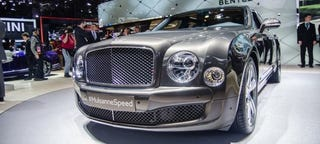 Illustration for article titled The Bentley Mulsanne Speed Is Huge
