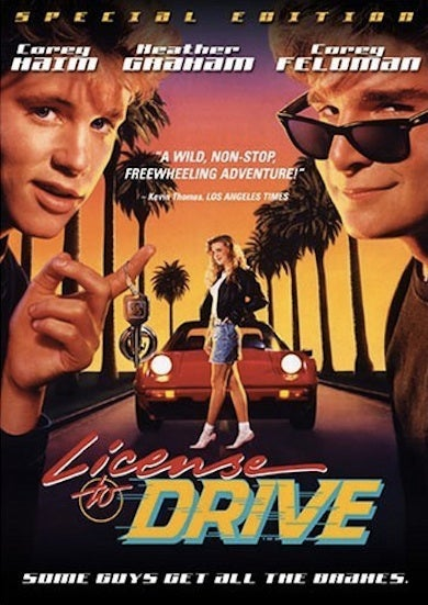 """Illustration for article titled Corey Haim, Star of """"License to Drive,"""" Dead At 38"""