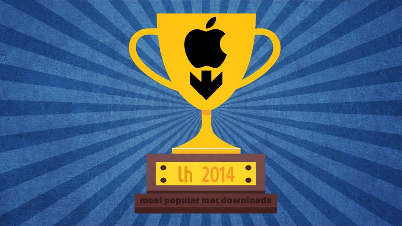 Illustration for article titled Most Popular Mac Downloads and Posts of 2014