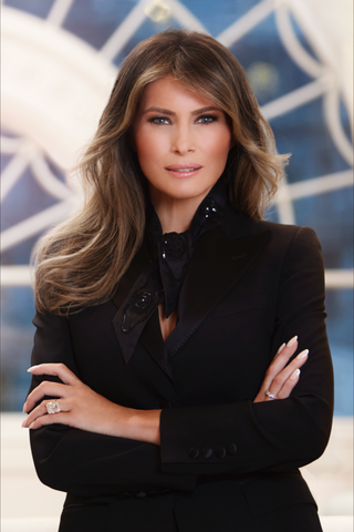 Illustration for article titled White House releases official Photoshop--er, Portrait--of First Lady