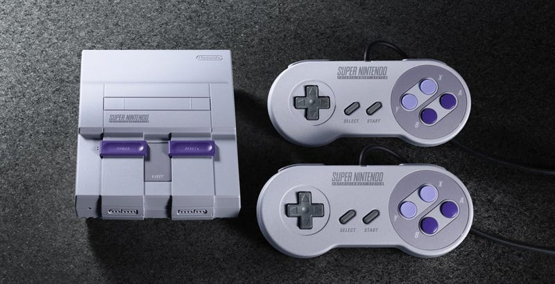 Illustration for article titled Nintendo Announces SNES Classic, Which Comes With 21 Stellar Games [UPDATE]