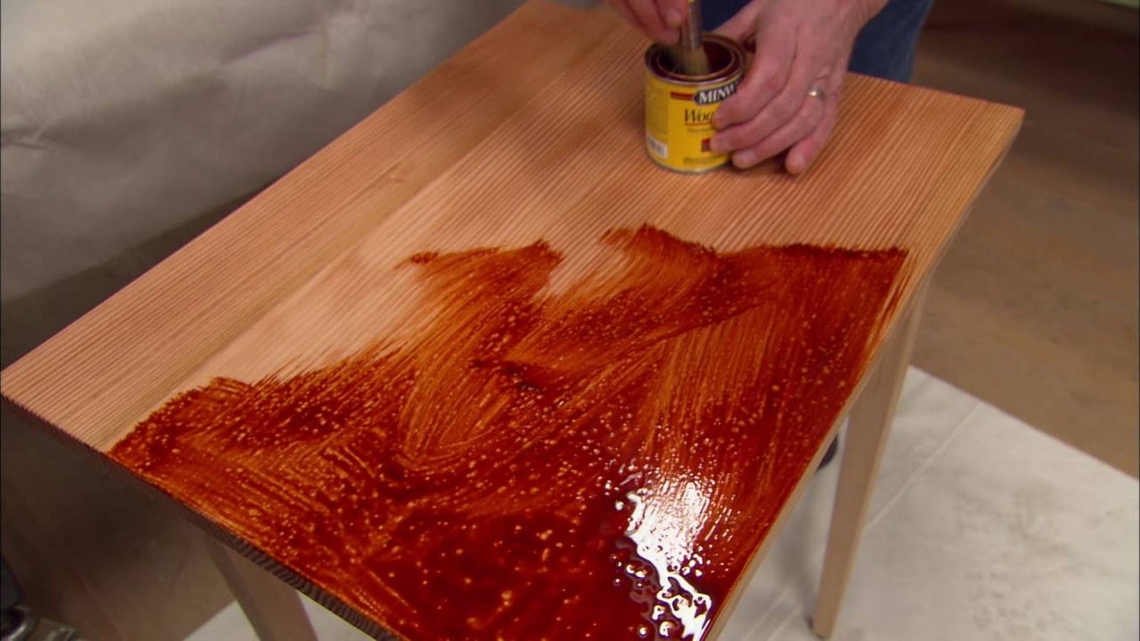 The Proper Way to Finish Surfacing Wood Furniture