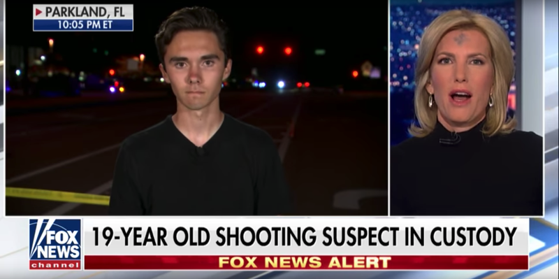 Illustration for article titled Fox News host apologizes to Parkland survivor, but only because it's Holy Week