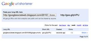 Illustration for article titled Google URL Shortener, aka Goo.gl, Finally Gets Its Own Web Site