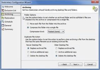 Illustration for article titled Deskcretary Cleans Up Your Windows Desktop