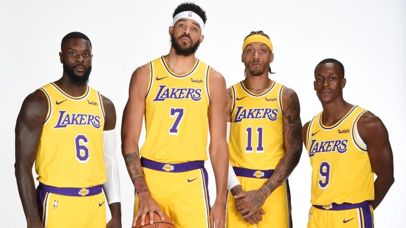 Illustration for article titled The Lakers' Wayward Bozos Assemble, And LeBron Gives Them A Tender Nickname