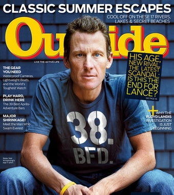 Illustration for article titled Lance Armstrong Photoshopped Mag Cover: BFD