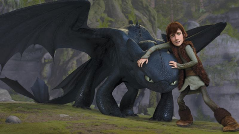Illustration for article titled How To Train Your Dragon