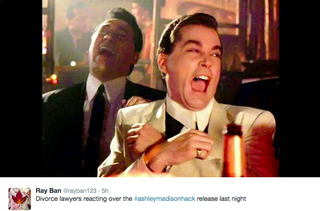 The Internet Is Gleeful About Your Impending #AshleyMadisonHack Divorce