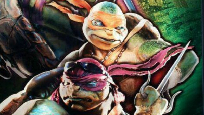 Illustration for article titled Here's what the rest of the Michael Bay-rebooted Ninja Turtles look like