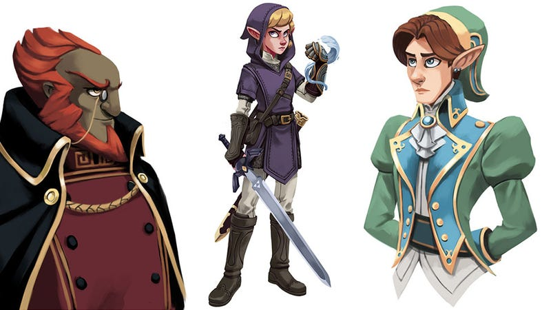 Illustration for article titled Nintendo Would Never Have The Guts To Release A Zelda Game This Cool