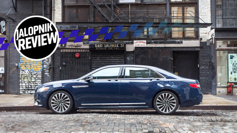 The 2018 Lincoln Continental Is The Car Lincoln Shouldu0027ve Made 20 Years Ago