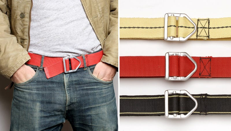Illustration for article titled Kevlar Smokejumper Belts Can Survive Infinite Buffet Trips