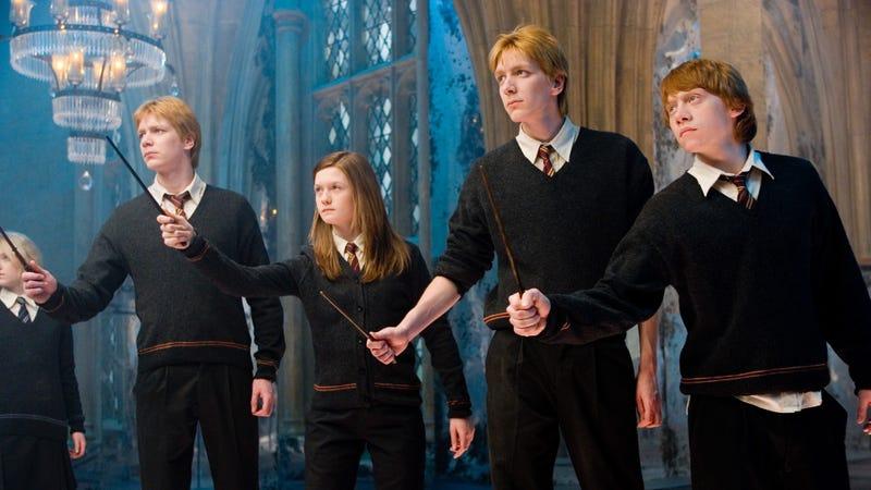 Parte de los hermanos Weasley. Imagen: Warner Bros