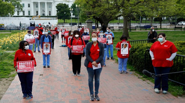 Leave the Healthcare Workers Alone