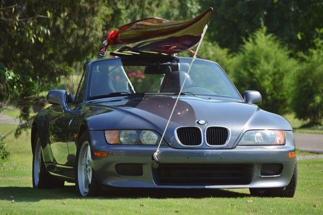 1999 Bmw Z3 Roadster Will It Kayak
