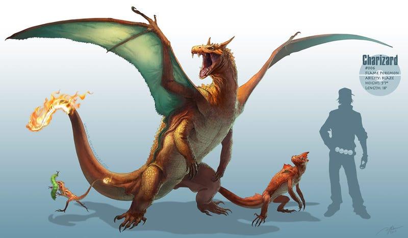 Illustration for article titled Pokémon se merece un juego con criaturas ultrarrealistas como estas