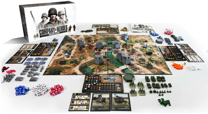 Illustration for article titled Company Of Heroes Is Now A Board Game