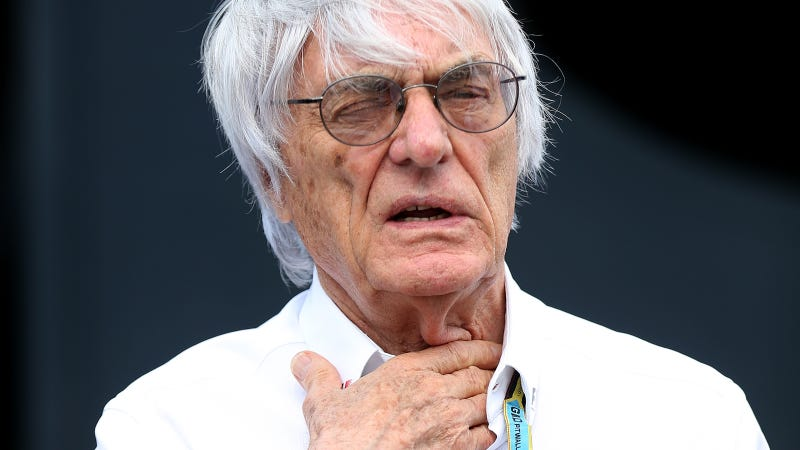 Illustration for article titled Bernie Ecclestone Doesn't Like Bloggers Very Much