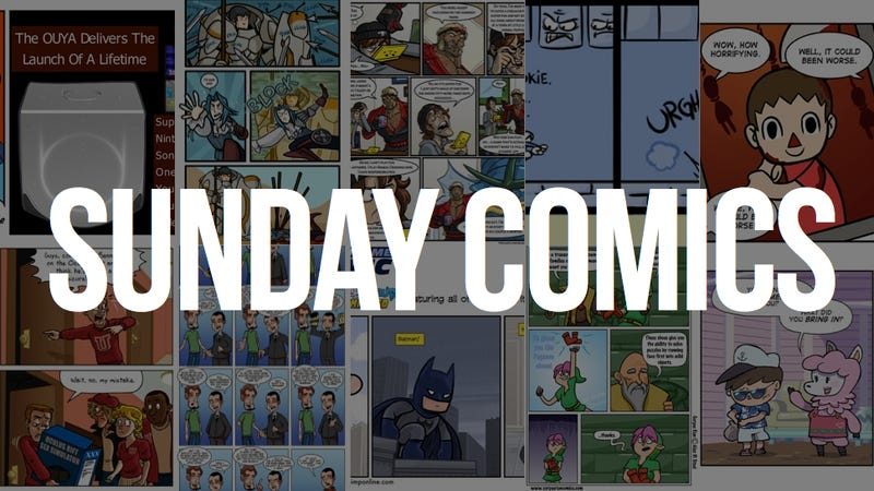 Illustration for article titled Sunday Comics: Take a Bow