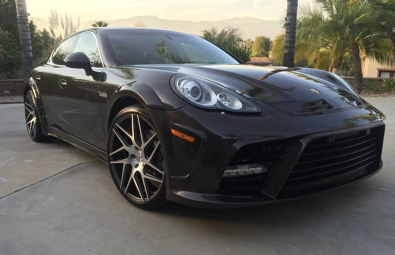 for 49 990 is this 2010 porsche panamera a beauty or a beast. Black Bedroom Furniture Sets. Home Design Ideas