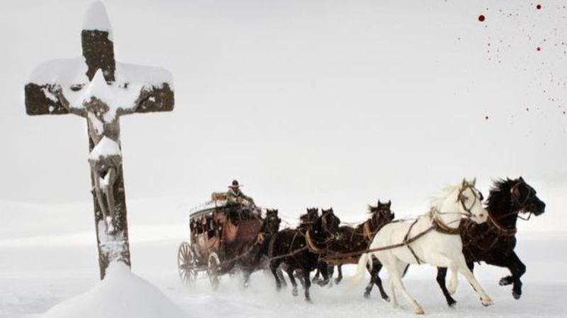 Illustration for article titled Here's the first track from Ennio Morricone's Hateful Eight score