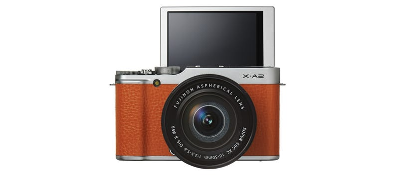 Illustration for article titled Fujifilm X-A2: An Updated Entry-Level Mirrorless For Selfie Lovers