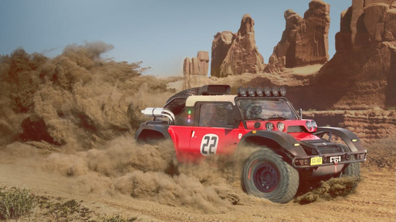 Illustration for article titled Scuderia Cameron Glickenhaus Wants to Send Its Badass Race Buggy to the Baja 1000