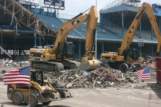 Illustration for article titled Tiger Stadium To Be Demolished, And 80 People Care