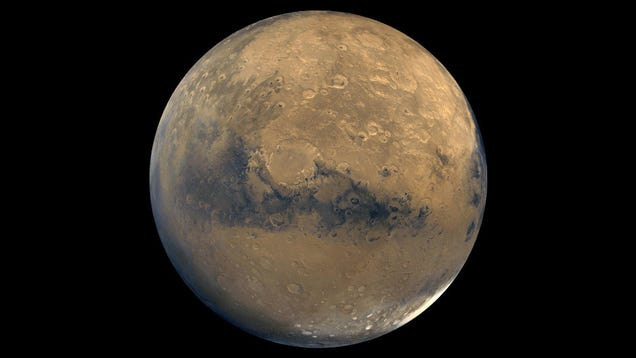 Mars Is Hiding Its  Lost  Water Beneath the Surface, New Research Suggests