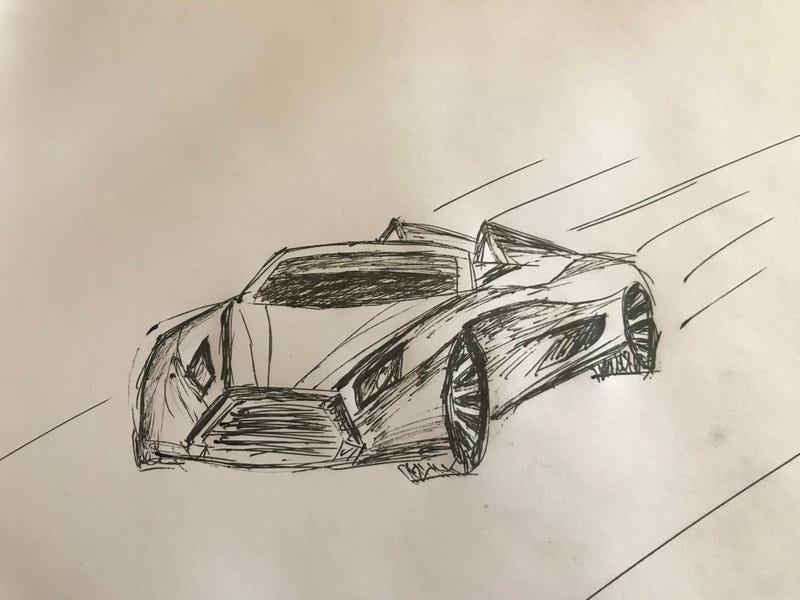 Illustration for article titled Car Design Oppo