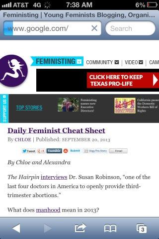 Illustration for article titled Da fuq, feministing.com?!
