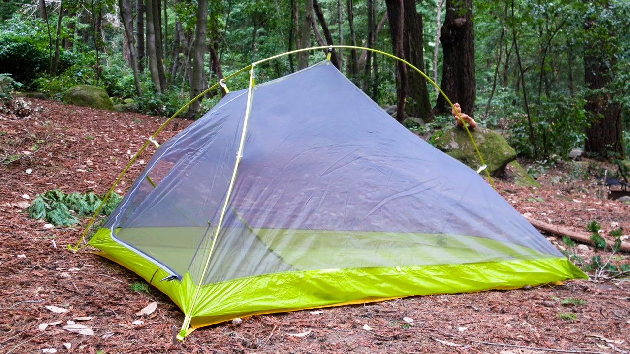 & What Itu0027s Like To Live In The Worldu0027s Lightest Freestanding Tent