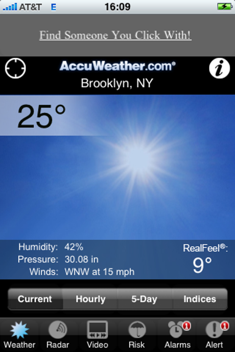 AccuWeathercom App Tells You If Youll Have A White Christmas - Accuweather brooklyn